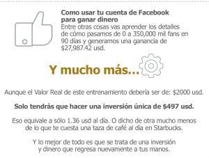 como usar tu cuenta de facebook para ganar dinero