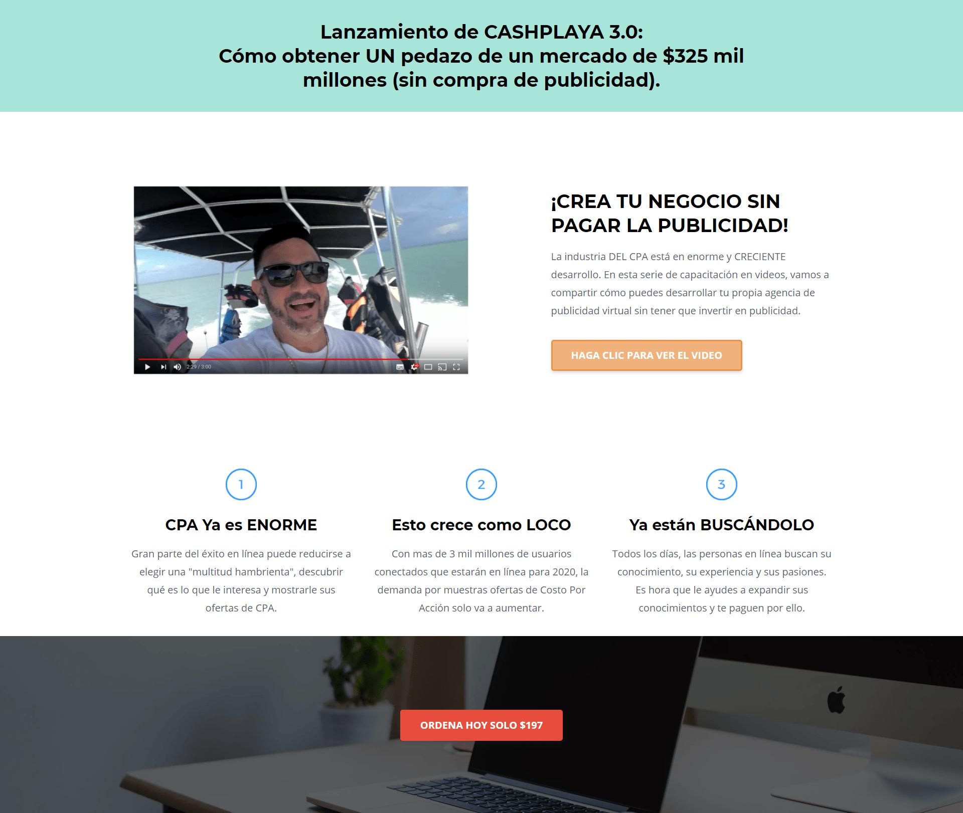 Cash Playa 3.0