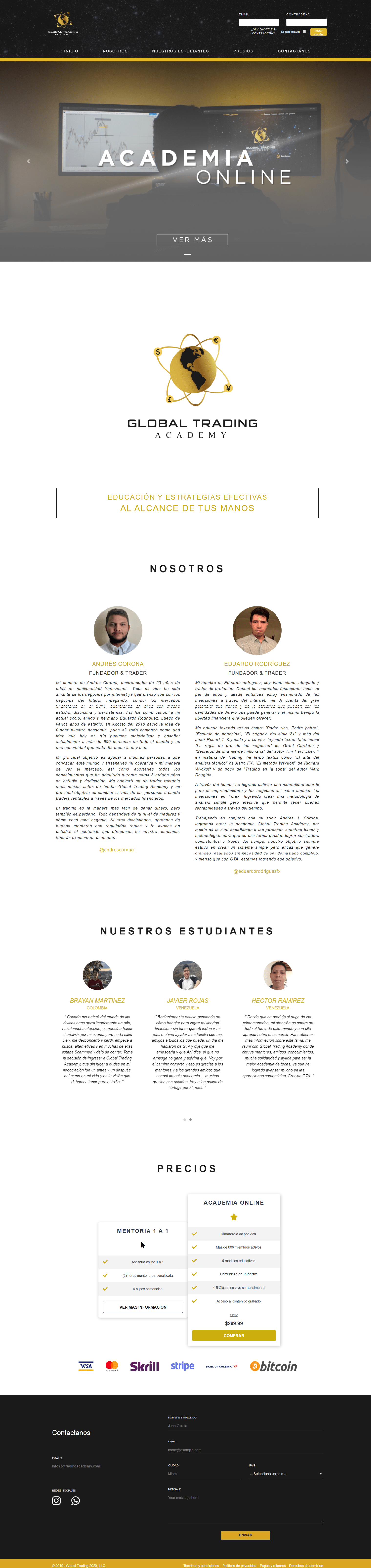 Global Trading Academy Curso