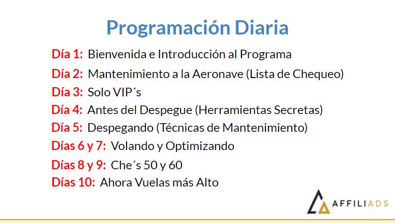 Programacion Affiliads